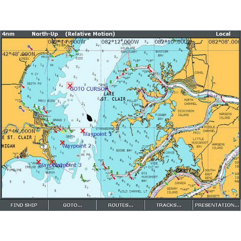 MAPS: DIGITAL MAP NAVIONICS on
